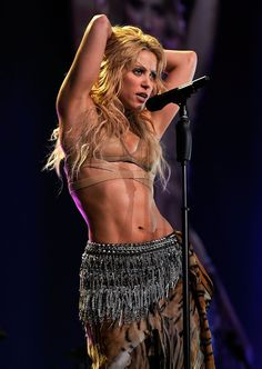 Shakira has been bringing on the sexy moments for years now.