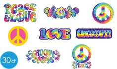 Feelin Groovy Party Supplies - 60s Theme Party - Party City