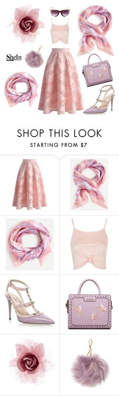 """""""Classy"""" by andra-andu on Polyvore featuring Chicwish, Topshop, Valentino, Accessorize, Charlotte Russe and SUNO New York"""