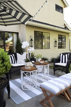 Large backyard landscaping ideas are quite many. However, for you to achieve the best landscaping for a large backyard you need to have a good design. Outdoor Rooms, Outdoor Living, Outdoor Decor, Outdoor Seating, Design Patio, Chair Design, Outside Living, Small Patio, Backyard Patio