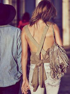 Click for similar Bag ~ Bucket Bag with Fringe