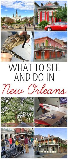 New Orleans: What to See and Do. Make the most of your NOLA vacation with these top travel tips and suggestions.