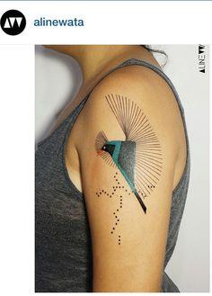 Aline Wata tattoo
