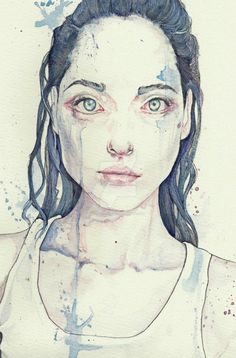 Aquarelle, acrylics, ink and ballpoint pens on watercolor paper.