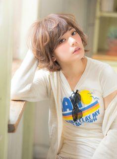 甘めバングショート 【aRietta】 http://beautynavi.woman.excite.co.jp/salon/27794?pint ≪ #shorthair #shortstyle #shorthairstyle #hairstyle・ショート・ヘアスタイル・髪形・髪型≫