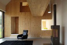 Casa Prefabbricata G House di Lode Architecture: interni