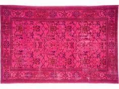 Vintage Teppich / Vintage Rug / Vintage Tapis : Fuchsia 8 in Möbel & Wohnen, Teppiche & Teppichböden, Teppiche | eBay