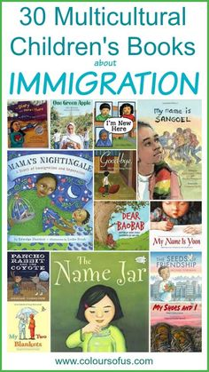 Picture Book Lesson Plans Elementary Beautiful Multicultural Picture Books About Immigration Multicultural Classroom, Multicultural Activities, Mentor Texts, Library Books, Kid Books, Class Library, Library Ideas, Children's Literature, Read Aloud