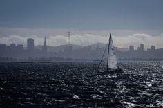 San Francisco, my home :) Great Photos, San Francisco Skyline, Paris Skyline, Sailing, Boarding Pass, Places, Photography, Travel, Candle