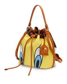 Tweety Bird Bucket Bag, Yellow Multi