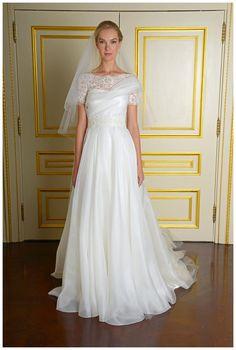 Marchesa Fall Winter 2015 Bridal Collection. #bride #bridal #weddingdress #wedding