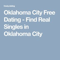Dating laws in oklahoma