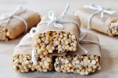 Quinoa-Chia Freezer Bars Vegan Gluten-Free