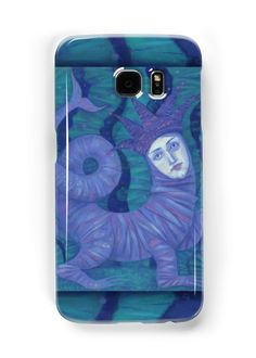 """""""""""Melusine"""", pastel painting, fantasy art"""" Samsung Galaxy Cases & Skins by clipsocallipso 