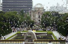 Peace Park, Hiroshima Japan
