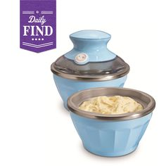 Soft-Serve Ice Cream Maker - Daily Find made by Hamilton Beach >> So cute! I may have to try this! $25