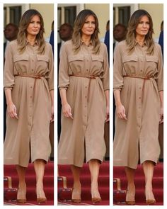 First Lady Melania Trump, Malawi, Milania Trump Style, First Lady Melania Trump, Look Fashion, Fashion Design, First Daughter, Diy Baby, Famous People, New Look, Casual Dresses