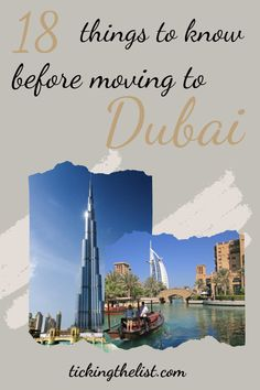 Moving house can be stressful. Moving country even more so. With everything that needs to be done before the move, have you thought about the place you're moving to? Here are some things you must know before moving to Dubai