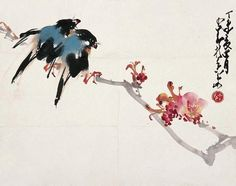 by Chinese lingnan artist Chao Shao-Ang