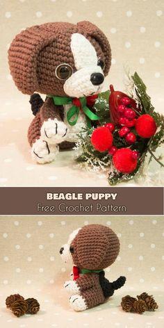 Beagle Puppy - Amigurumi Dog [Free Crochet Pattern]