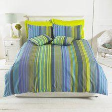 Silver Range Oxford Stripe Duvet Set