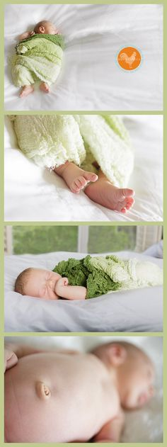 Newborn Photography Session Tips: Lighting & Props