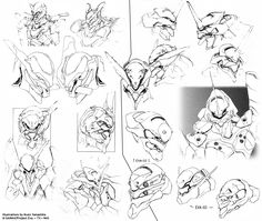 Neon Genesis Evangelion Production Sketchs Neon Genesis Evangelion, Post Apocalyptic Anime, Character Design References, Character Art, Drawing Sketches, Drawings, Retro Logos, Vintage Logos, Creature Feature
