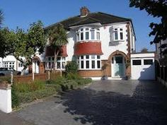 English 1930's semi-detatched houses - I have a soft spot for these and their comfortable, homely designs