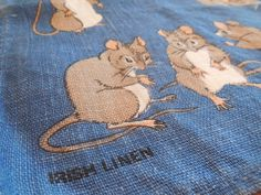 Vintage  Mice by Lilster REG NO 6196 100 IRISH by LittleMarin,