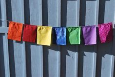 gratitude flag kit found at arubymoon on Etsy.
