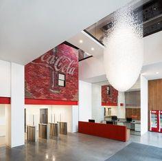 Coca Cola HQ Office, London, UK large soft drink company