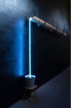 EVIGER LAUF BY ROLF SACHS    LIGHT SCULPTURE