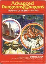 AD&D Treasure of Tarmin - Intellivision Game