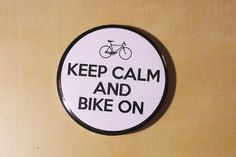 Keep Calm and Bike On Bike lovers inspired button. by SaavyInc Make And Sell, Keep Calm, Decorative Plates, Lovers, Buttons, Bike, Inspired, Etsy, Inspiration