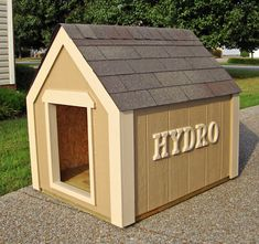 Unique Dog Houses | Outdoor Pet Solutions - Painted Custom Dog Houses