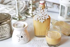 Homemade Eggnog, Handmade Christmas Gifts, Rum, Panna Cotta, Projects To Try, Pudding, Ethnic Recipes, Food, Tips