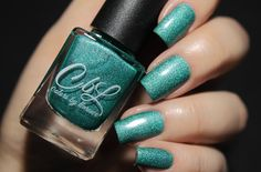 Fashion Polish: Colors by Llarowe Krispy Kreme Dreams collection swatches and review. High School Was Rough Man by @fashionpolish