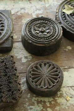 Textile stamps
