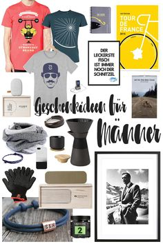 Geschenkideen für Männer 2016: Unsere Weihnachtsgeschenke Shoppingtipps mit schönen Ideen für den Mann, Freund oder Bruder! Schöne Ideen für 2016