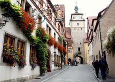 Rothenburg ob der Tauber, Rothenburg, Germany