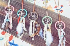 life is beautyfull + wildflower dream catcher - Little girls glamping party