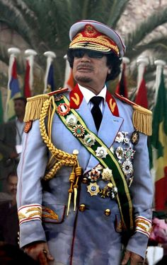 Colonel Muammar Gaddafi, the longtime leader of Libya had alienated Western Powers and ultimately his own people through the years which culminated in The Libyan Civil War in 2011. He died on 20 October 2011 during the Battle of Sirte. Gaddafi was found hiding in a culvert west of Sirte and captured by National Transitional Council forces. He was killed shortly afterwards.