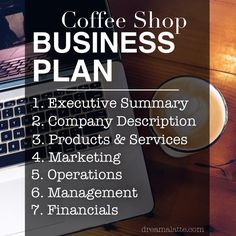 Coffee Shop Business Plan Contents