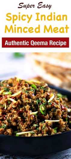 This CLASSIC authentic Indian minced meat Qeema recipe is so delicious, it'll become a regular at your house! This CLASSIC authentic Indian minced meat Qeema recipe is so delicious, it'll become a regular at your house! Indian Food Recipes, Asian Recipes, Whole Food Recipes, Cooking Recipes, Authentic Indian Recipes, Fish Recipes, Low Carb Indian Food, Authentic Food, Dinner Recipes