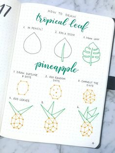 Architektur Tropical Journal Weekly Layout Little Miss Rose Rose Kurmann tutorial bujo bullet journal weekly spread pineapples crescent leaf week journal planner planning The post Tropical Journal Weekly Layout appeared first on Architektur.