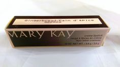 Mary Kay Creme Lipstick Gingerbread NEW in box FULL SIZE size twist tube 022822 #MaryKay