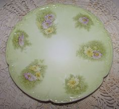 Vintage Hand Painted Bavarian China Porcelain by PuppyLuckArt