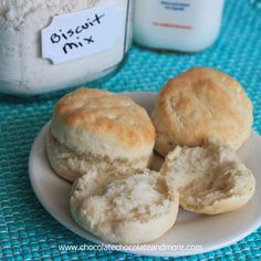 "TweetHomemade Biscuit Mix-you never have to buy the box stuff again! I get asked for this all the time. Apparently Bisquick and Jiffy Biscuit mix aren't available outside of the United States. And some people just don't like to use the ""box stuff."" I've mentioned it a zillion times. My mom didn't cook so we …"