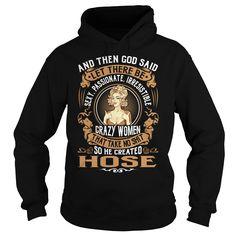 God Created HOSE Women Name Shirts #Hose
