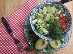 Salade bowl | KoolhydraatarmRecept.nl